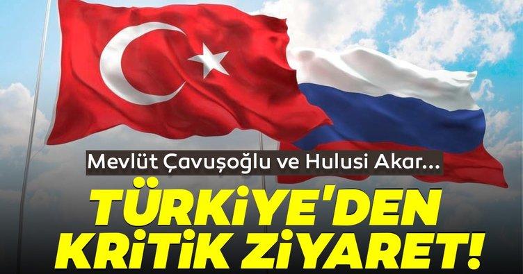 Son dakika haberi: Türkiye'den kritik ziyaret! Çavuşoğlu ve Akar Moskova'ya gidecek