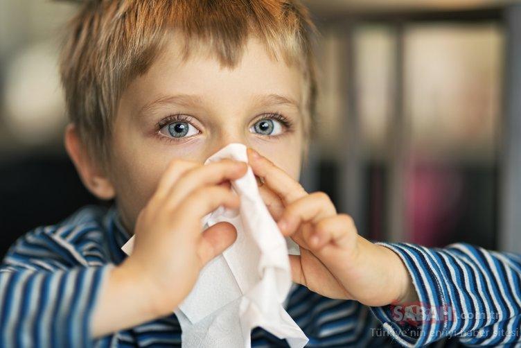 Çocuklarda soğuk algınlığının en önemli nedeni bu kış rinovirüsler