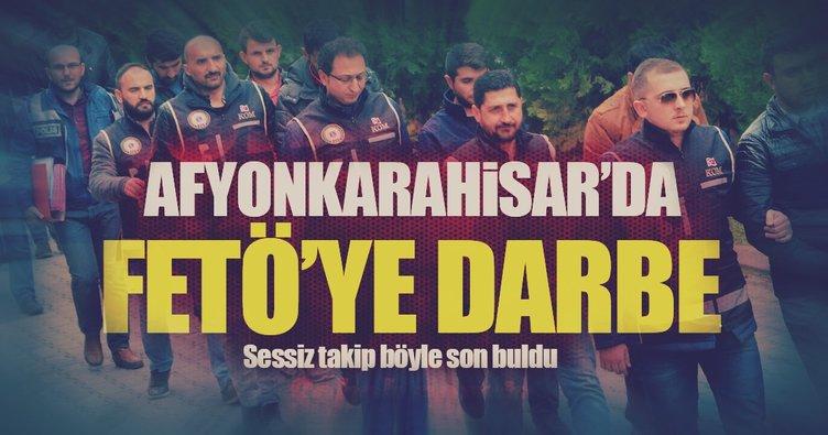 Afyonkarahisar'da FETÖ operasyonu: 29 gözaltı