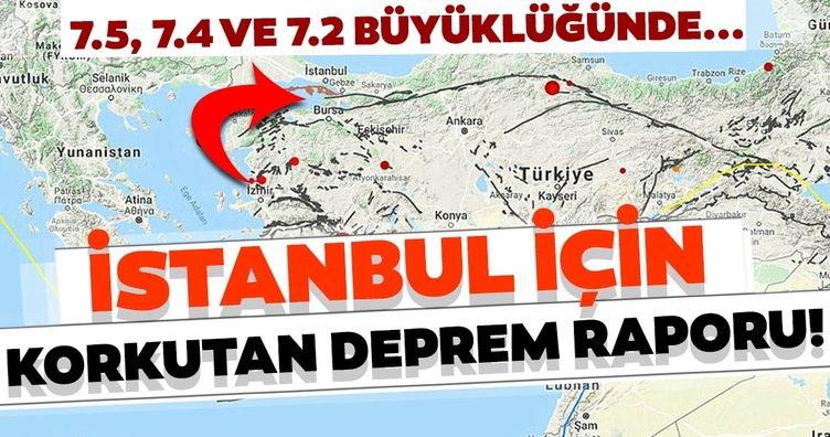 İstanbul depremi son dakika uyarısı! Depremlerin şiddeti 7.5, 7.4 ve 7.2...