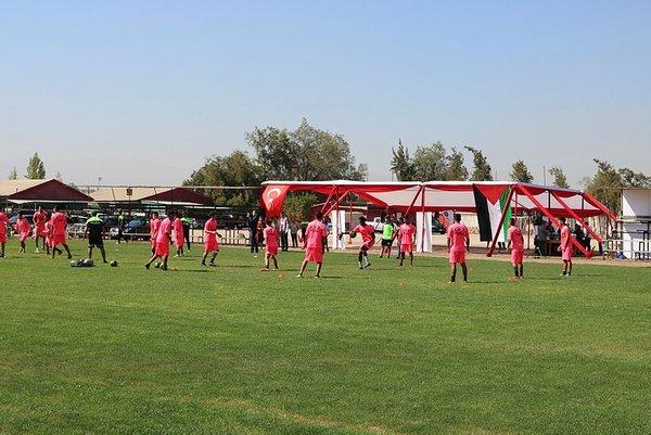 Şilili Filistinlilerin takımı Palestino'ya Türkiye'den destek