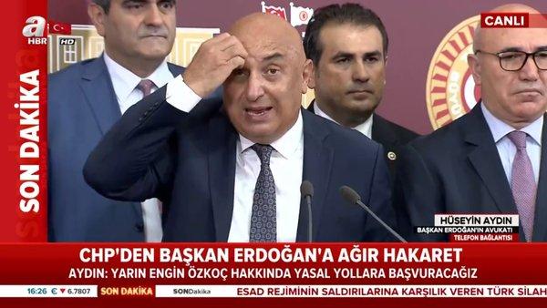 CHP Grup Başkanvekili Engin Özkoç'tan Cumhurbaşkanı Erdoğan'a skandal hakaretler | Video