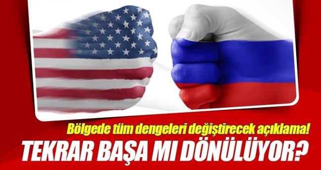 ABD, Rusya ile Suriye kapsamıdaki ikili anlaşmaları durdurabilir!