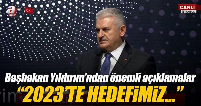 Başbakan Yıldırım: Türkiye'yi 10 büyük ekonomiden biri yapacağız