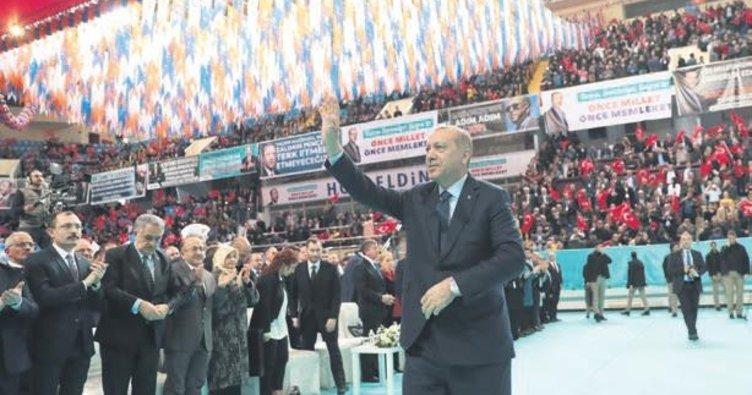 Erdoğan: Kimseye ayrımcılık yapmayacağız