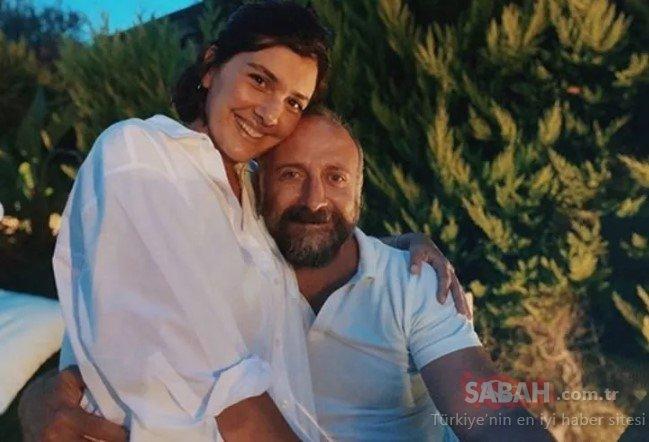 Halit Ergenç ve Bergüzar Korel çiftinden romantik pozlar! Bergüzar Korel ve Halit Ergenç evlilik yıl dönümlerini kutladılar!