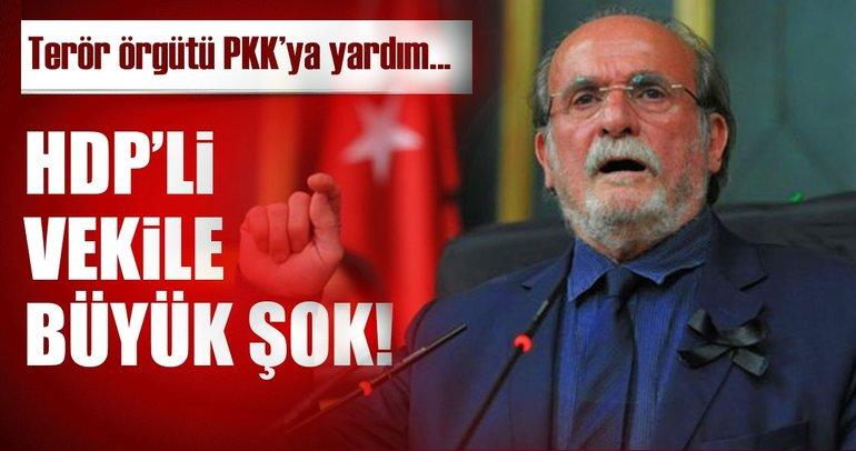 HDP'li Kürkçü'ye PKK'ya yardımdan fezleke!