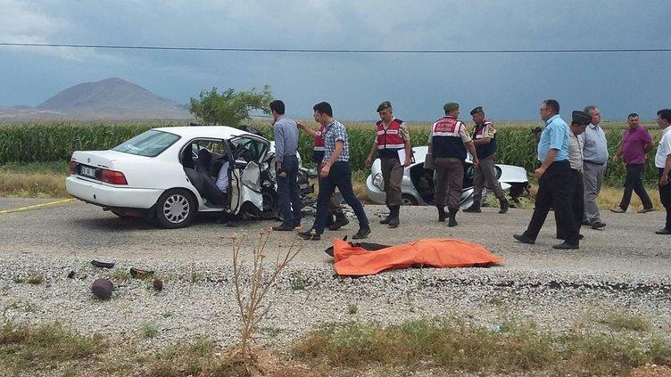 Karaman'da feci kaza: 6 ölü!
