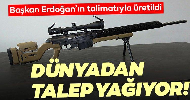 Başkan Erdoğan'ın talimatıyla üretildi! Dünyadan talep yağıyor...