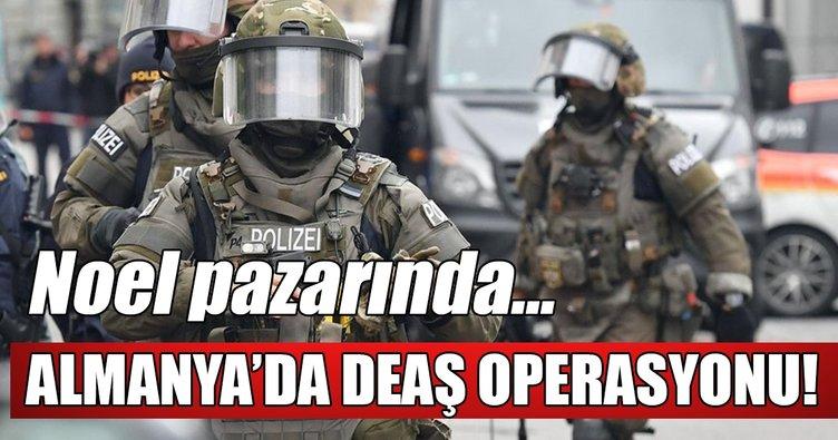 Almanya'da DEAŞ operasyonu: 6 kişi gözaltında