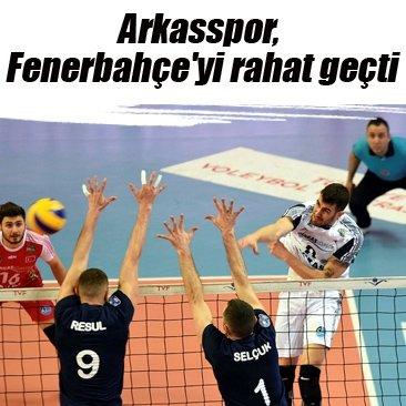 Arkasspor, Fenerbahçe'yi rahat geçti