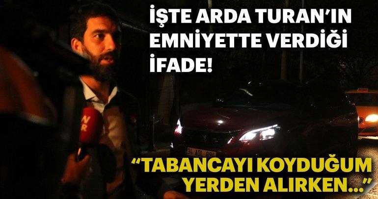 Arda Turan - Berkay kavgasında flaş gelişme! İşte Arda Turan'ın emniyette verdiği ifade