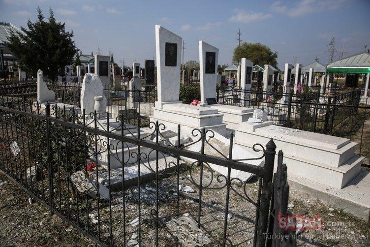 Son dakika: Ermenistan'dan kalleş saldırı: Mezarlık ziyaretindeki sivilleri vurdular...