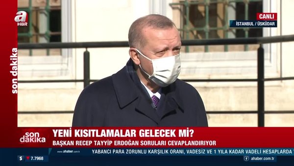Son Dakika! Cumhurbaşkanı Erdoğan'dan Cuma namazı çıkışında önemli açıklamalar | Video