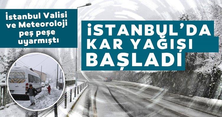SON DAKİKA | İstanbul'da kar kalınlığı 20 cm'yi bulacak! İstanbul'da beklenen kar yağışı sonrası flaş açıklama