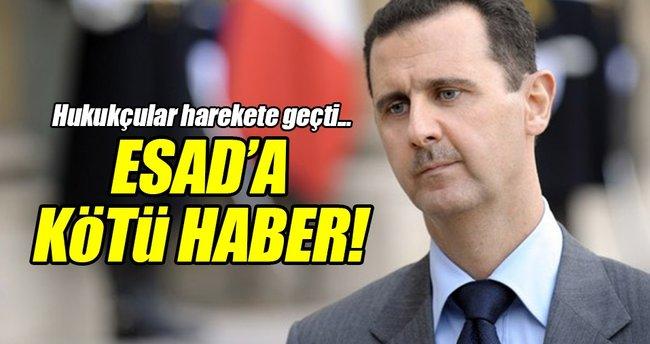 Almanya'da Esad hakkında suç duyurusu!
