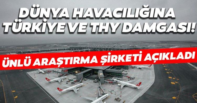 Ünlü araştırma şirketi açıkladı: Dünyada 10 yılda havacılığa Türkiye ve THY damga vurdu
