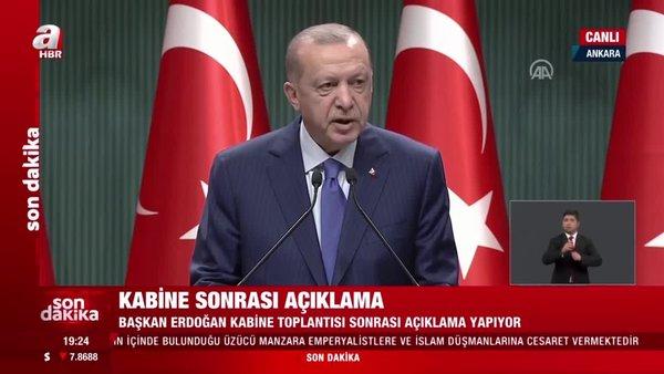 Başkan Recep Tayyip Erdoğan'dan 'doğal gaz' açıklaması: