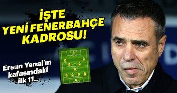 Yeni transferlerin ardından Fenerbahçe 11'i nasıl olacak?