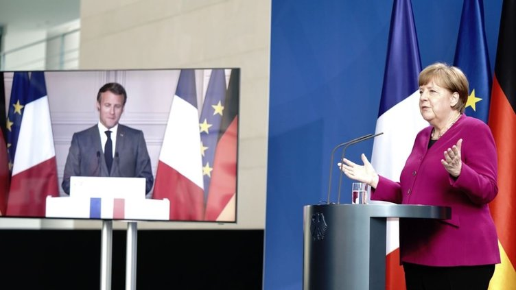 Son dakika: Miçotakis ve Macron'a Merkel freni! Türkiye planları suya düştü...