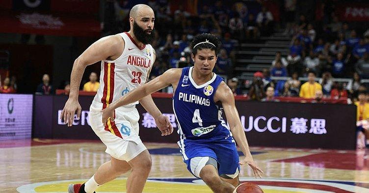 2019 FIBA Dünya Kupası   Angola: 84 - Filipinler: 81
