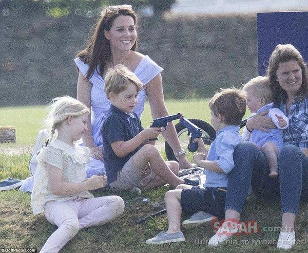 Kraliyet ailesinin  en gözde üyesi beklenmedik bir hata yaptı!