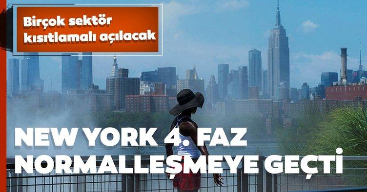 New York 4. faz kısıtlı normalleşmeye geçti