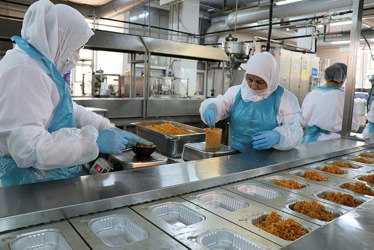 Operasyondaki Mehmetçik'in yemeği anne eli değmiş gibi! Özel olarak hazırlanıyor