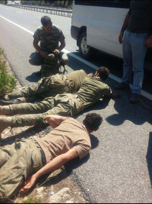 Marmaris'te yakalanan hainlerin ilk ifadesine ulaşıldı!