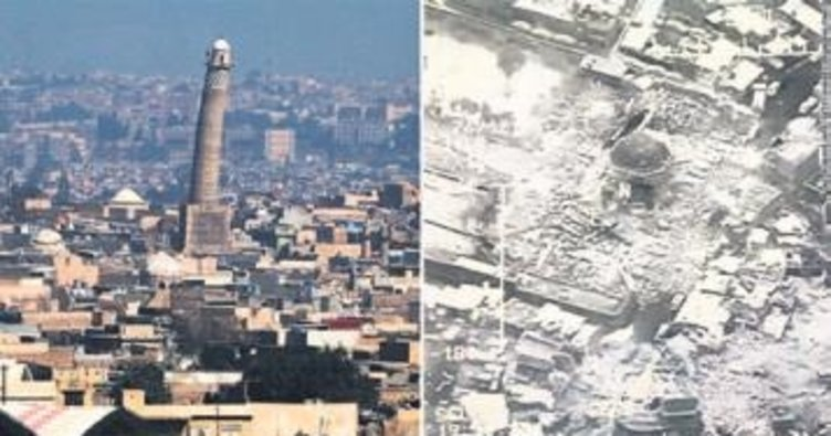 847 yıllık camiyi havaya uçurdular