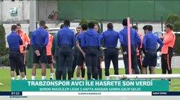 Trabzonspor galibiyet hasretine Abdullah Avcı ile son verdi