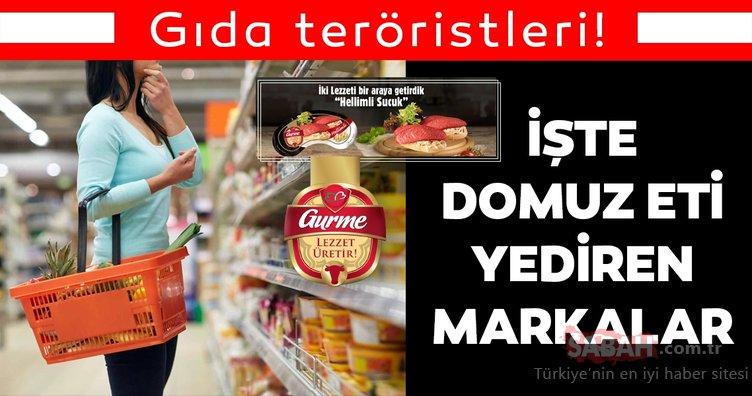 Bakanlık resmen açıkladı: Detaylar gerçeği ortaya koydu! Domuz eti içeren hileli ürünler listesinde...