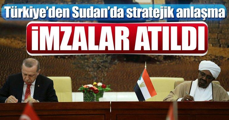 Türkiye'den Sudan'da stratejik anlaşma