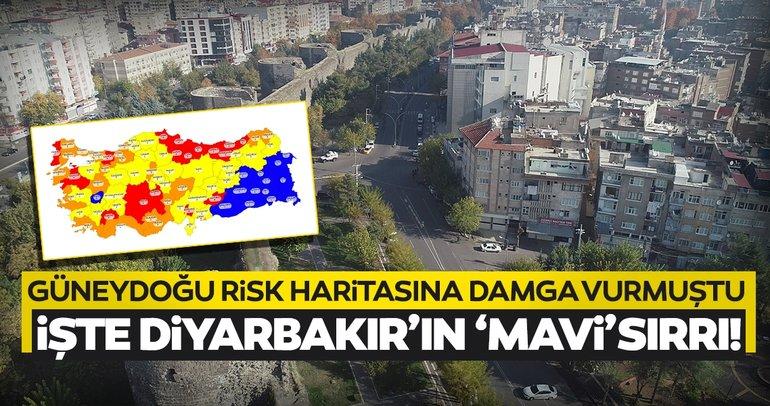 Son dakika: İşte Koronavirüs risk haritasında 'mavi' olan Diyarbakır'ın sırrı!