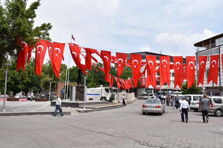 Malazgirt'te Cumhurbaşkanı Erdoğan hazırlığı