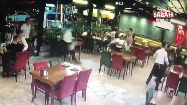 Restorana giren kurbanlık koç paniğe neden oldu! O anlar kamerada | Video