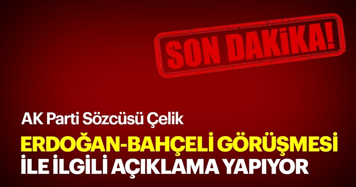 Son dakika: AK Parti Sözcüsü Erdoğan-Bahçeli görüşmesi ile ilgili basın toplantısı düzenliyor