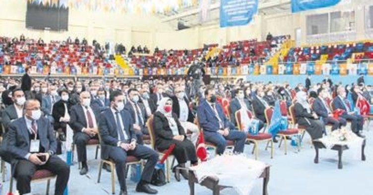 Erdoğan, Isparta kongresine katıldı