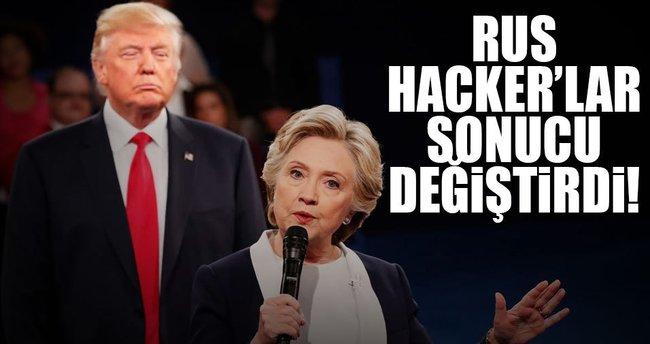 Rus hacker'lar sonucu değiştirdi