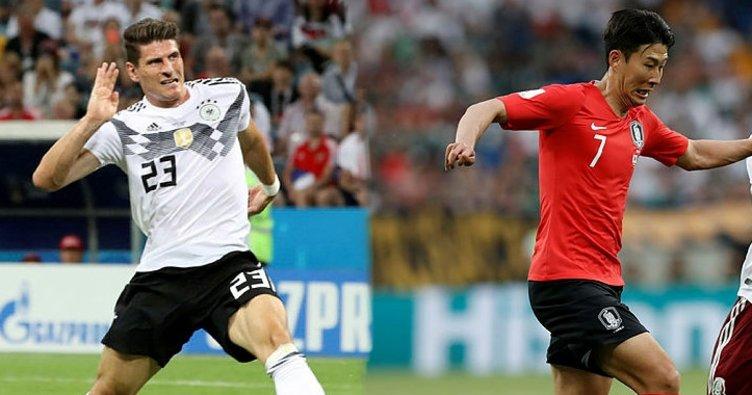 Güney Kore Almanya maçı ne zaman saat kaçta hangi kanalda?