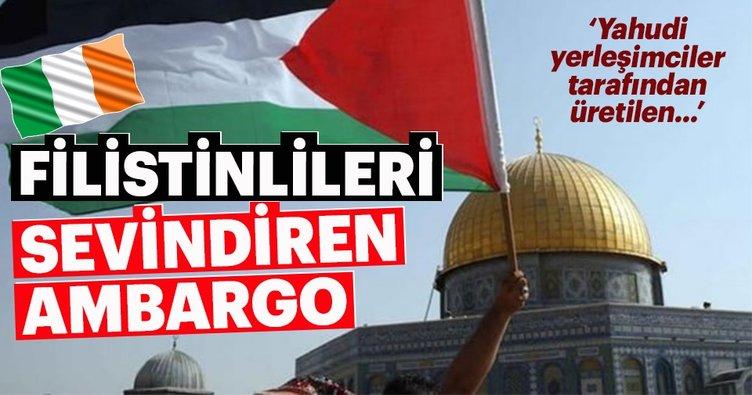 Filistin, İrlanda'nın boykot kararına sevindi
