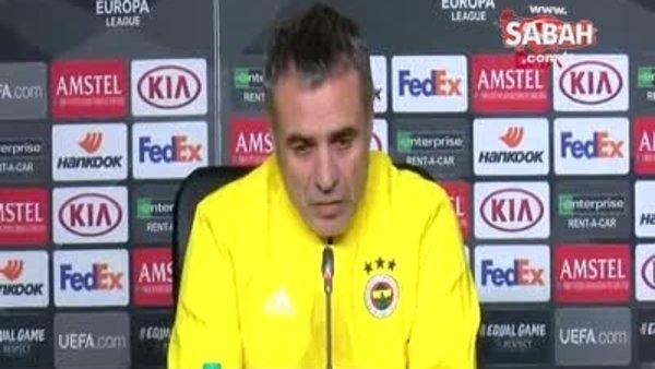 Zenit maçı öncesi Ersun Yanal'dan önemli açıklamalar