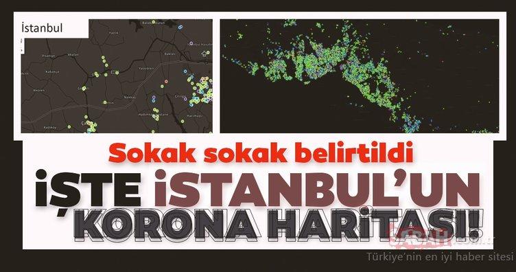 SON DAKİKA: Hayat Eve Sığar uygulaması ile İstanbul'daki corona virüsü vaka dağılımı güncellendi! İşte İstanbul ve Türkiye Corona virüs vaka yoğunluğu haritası