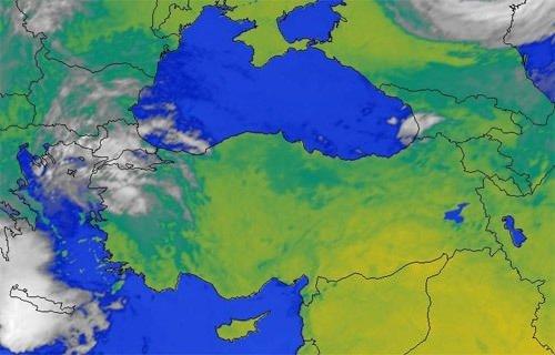 Son uydu görüntüleri