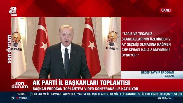 Son dakika: Cumhurbaşkanı Erdoğan'dan CHP'ye sert tepki