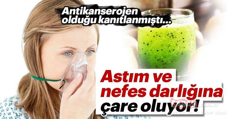 Astım ve nefes darlığını iyileştirme etkisi var!