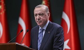 Erdoğan'dan Beşiktaş'a tebrik