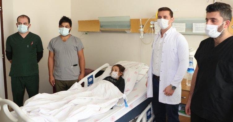 Şırnak'ta ilk defa bir çocuğa böbrek taşı ameliyatı yapıldı