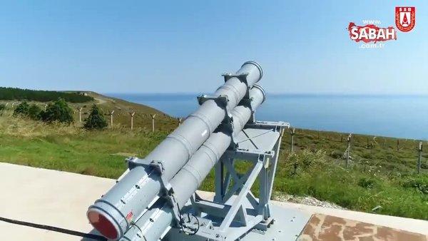 Türkiye'nin ilk ilk deniz seyir füzesi