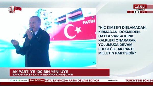 Başkan Erdoğan'dan Macron'a sert sözler